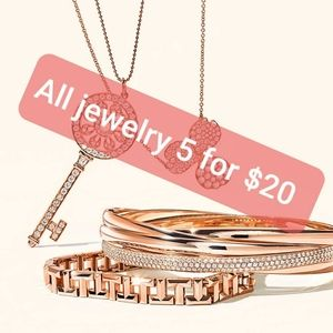 All jewelry 5 for $20 sale